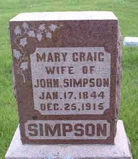 SIMPSON, MARY - Madison County, Iowa | MARY SIMPSON