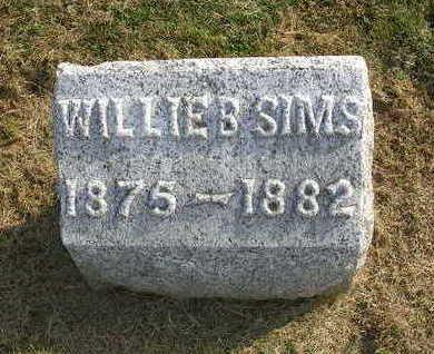 SIMS, WILLIE B. - Madison County, Iowa   WILLIE B. SIMS