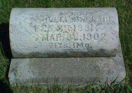 SINCLAIR, JULIA E. - Madison County, Iowa | JULIA E. SINCLAIR