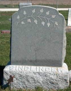 SINDLINGER, FAMILY STONE - Madison County, Iowa   FAMILY STONE SINDLINGER