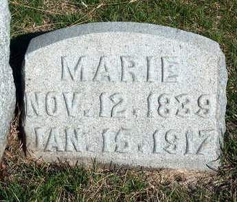SINDLINGER, MARIE - Madison County, Iowa | MARIE SINDLINGER
