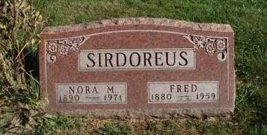 SIRDOREUS, FRED - Madison County, Iowa | FRED SIRDOREUS
