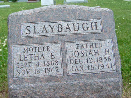 SLAYBAUGH, JOSIAH H. - Madison County, Iowa | JOSIAH H. SLAYBAUGH