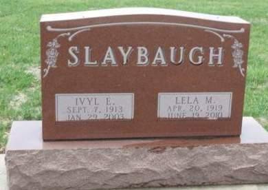 SLAYBAUGH, IVYL EARL - Madison County, Iowa | IVYL EARL SLAYBAUGH