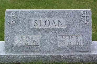 SLOAN, VELMA - Madison County, Iowa | VELMA SLOAN