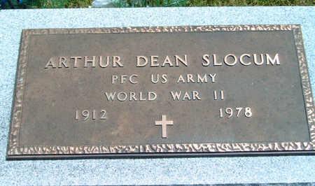 SLOCUM, ARTHUR DEAN - Madison County, Iowa | ARTHUR DEAN SLOCUM