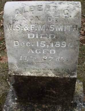 SMITH, ALBERT GAIL - Madison County, Iowa | ALBERT GAIL SMITH