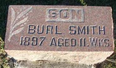 SMITH, STRAWDER BURL - Madison County, Iowa | STRAWDER BURL SMITH