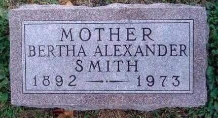 SMITH, BERTHA ELLEN - Madison County, Iowa | BERTHA ELLEN SMITH