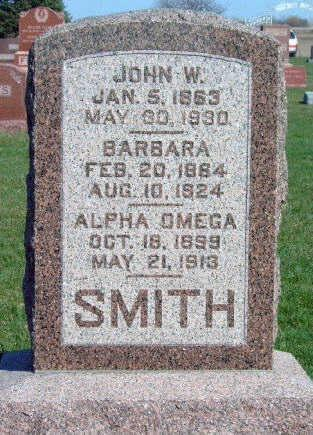 SMITH, ALPHA OMEGA - Madison County, Iowa | ALPHA OMEGA SMITH