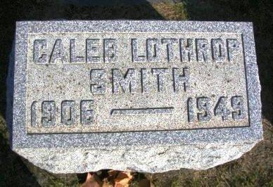 SMITH, CALEB LOTHROP - Madison County, Iowa   CALEB LOTHROP SMITH