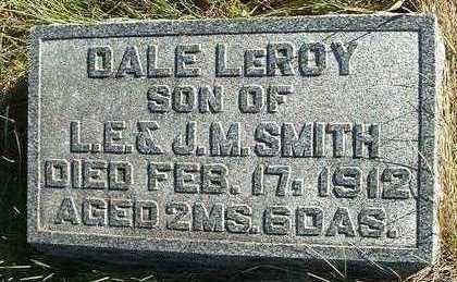 SMITH, DALE LEROY - Madison County, Iowa   DALE LEROY SMITH