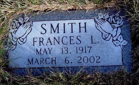 SMITH, FRANCES LORRAINE - Madison County, Iowa   FRANCES LORRAINE SMITH