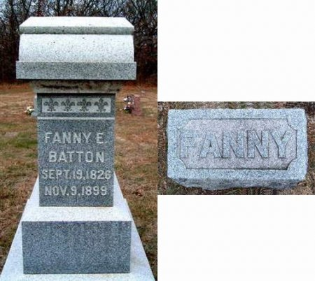BATTON, FANNY E. - Madison County, Iowa | FANNY E. BATTON