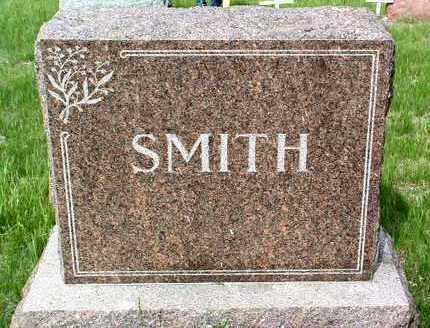 SMITH, FAMILY HEADSTONE - Madison County, Iowa   FAMILY HEADSTONE SMITH