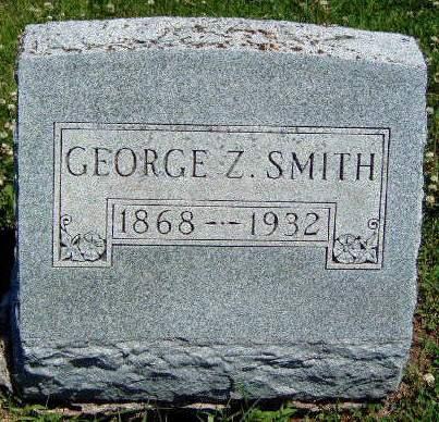SMITH, GEORGE Z. - Madison County, Iowa | GEORGE Z. SMITH