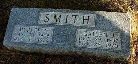 SMITH, GAILEN JAMES - Madison County, Iowa | GAILEN JAMES SMITH