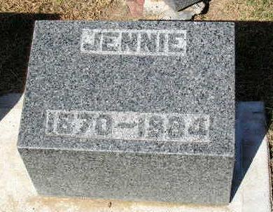 SMITH, JENNIE MABEL - Madison County, Iowa | JENNIE MABEL SMITH