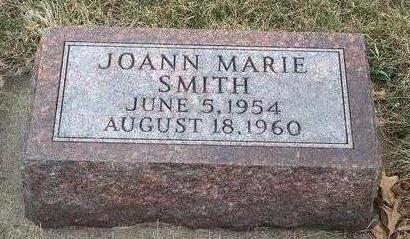 SMITH, JOANN MARIE - Madison County, Iowa   JOANN MARIE SMITH