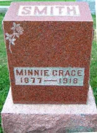 SMITH, MINNIE GRACE - Madison County, Iowa   MINNIE GRACE SMITH