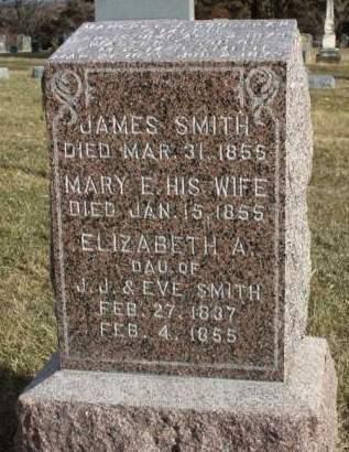 SMITH, MARY ELIZABETH - Madison County, Iowa | MARY ELIZABETH SMITH