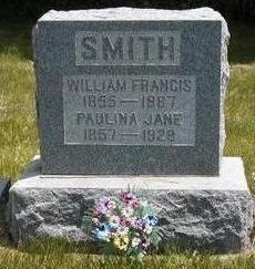 SMITH, PAULINA JANE - Madison County, Iowa | PAULINA JANE SMITH