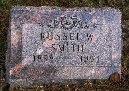SMITH, RUSSEL WILLIAM - Madison County, Iowa | RUSSEL WILLIAM SMITH