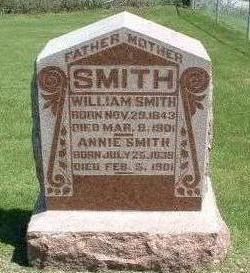 SMITH, ANNIE - Madison County, Iowa   ANNIE SMITH