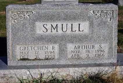 SMULL, RUBY GRETCHEN - Madison County, Iowa   RUBY GRETCHEN SMULL