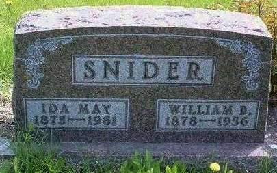 SNIDER, WILLIAM BURNARD - Madison County, Iowa | WILLIAM BURNARD SNIDER