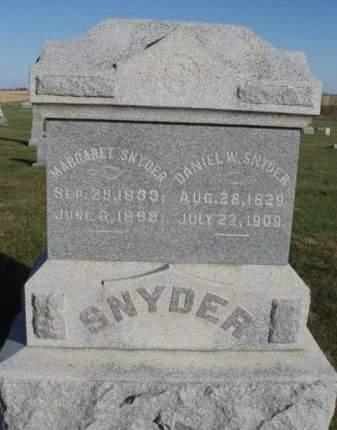 SNYDER, MARGARET - Madison County, Iowa | MARGARET SNYDER