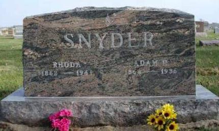 SNYDER, ADAM H. - Madison County, Iowa | ADAM H. SNYDER