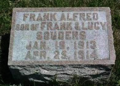 SOUDERS, FRANKLIN ALFRED - Madison County, Iowa | FRANKLIN ALFRED SOUDERS