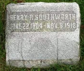 SOUTHWORTH, HENRY ROWE - Madison County, Iowa | HENRY ROWE SOUTHWORTH