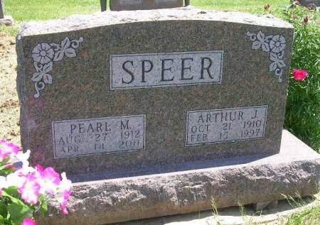 SPEER, PEARL M. - Madison County, Iowa | PEARL M. SPEER