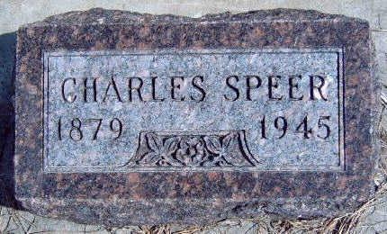 SPEER, CHARLES DARWIN - Madison County, Iowa | CHARLES DARWIN SPEER