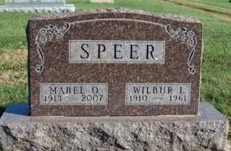 SPEER, MABEL OLIVE - Madison County, Iowa | MABEL OLIVE SPEER