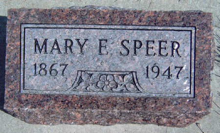 SPEER, MARY ELLEN - Madison County, Iowa | MARY ELLEN SPEER