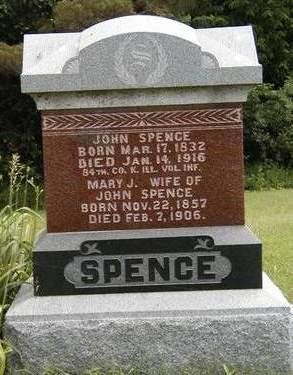 SPENCE, JOHN - Madison County, Iowa | JOHN SPENCE