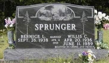 SPRUNGER, WILLIS CLARK - Madison County, Iowa | WILLIS CLARK SPRUNGER