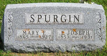 SPURGIN, ELKANAH JOSEPH - Madison County, Iowa | ELKANAH JOSEPH SPURGIN