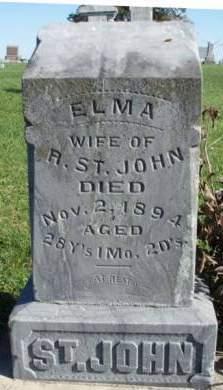 ST. JOHN, ELMA ESTHER - Madison County, Iowa | ELMA ESTHER ST. JOHN