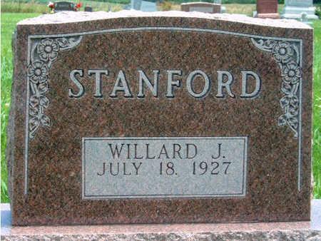 STANFORD, WILLARD J. - Madison County, Iowa   WILLARD J. STANFORD