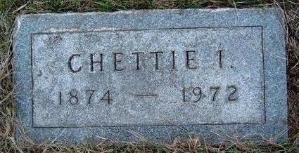 STANLEY, CHETTIE IRENE - Madison County, Iowa | CHETTIE IRENE STANLEY