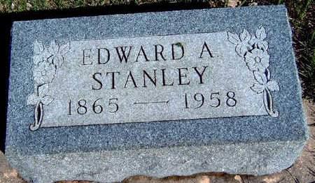 STANLEY, EDWARD ALPHEUS - Madison County, Iowa | EDWARD ALPHEUS STANLEY
