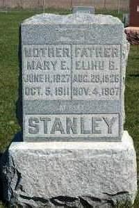 STANLEY, MARY EMILY - Madison County, Iowa   MARY EMILY STANLEY