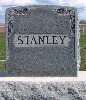 STANLEY, FAMILY STONE - Madison County, Iowa | FAMILY STONE STANLEY