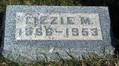 HAWLEY STANLEY, LIZZIE M. - Madison County, Iowa | LIZZIE M. HAWLEY STANLEY