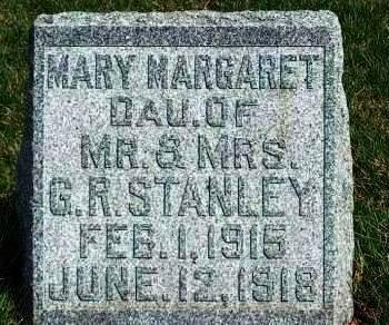 STANLEY, MARY MARGARET - Madison County, Iowa | MARY MARGARET STANLEY