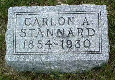 STANNARD, CARLON ASA - Madison County, Iowa   CARLON ASA STANNARD